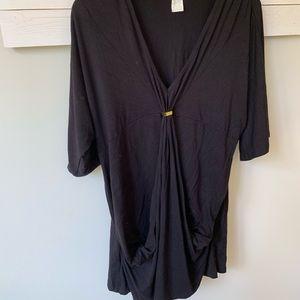 3/20 Trina Turk vguc sz large black top